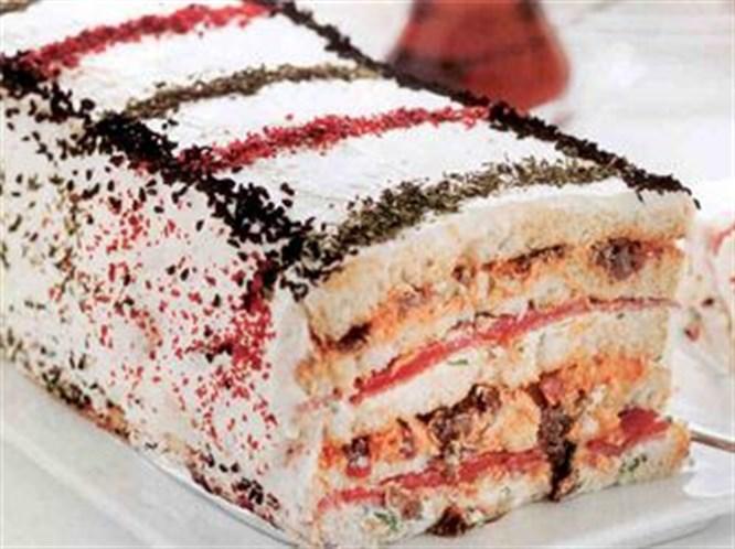 Nefis bir tuzlu pasta tarifi...